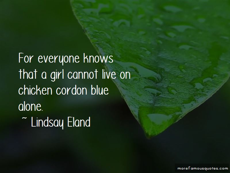 Lindsay Eland Quotes Pictures 2