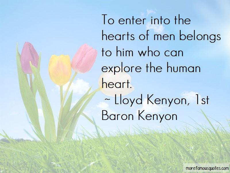 Lloyd Kenyon, 1st Baron Kenyon Quotes Pictures 3