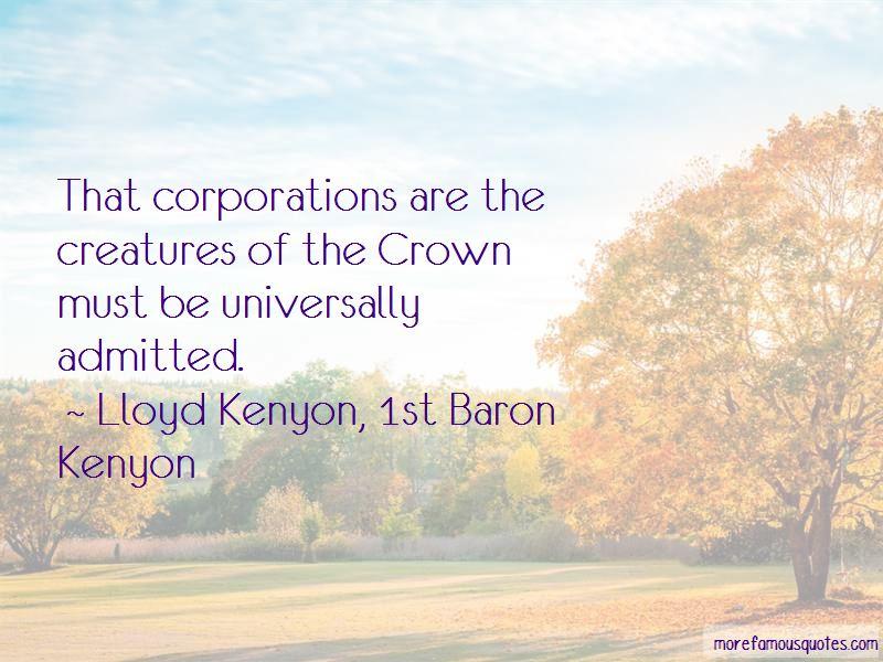 Lloyd Kenyon, 1st Baron Kenyon Quotes