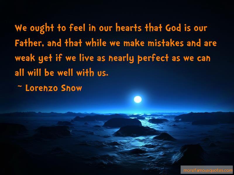 Lorenzo Snow Quotes