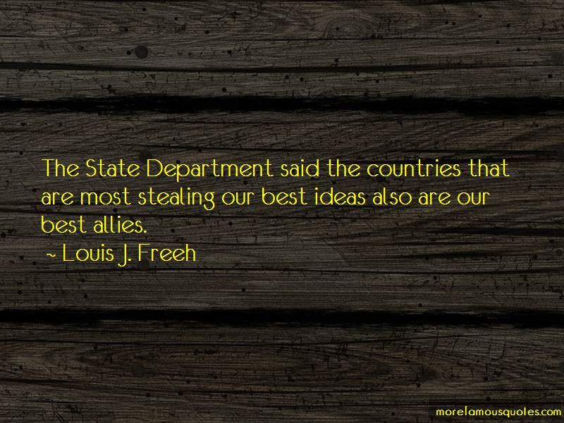 Louis J. Freeh Quotes Pictures 3