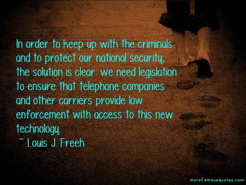 Louis J. Freeh Quotes Pictures 4