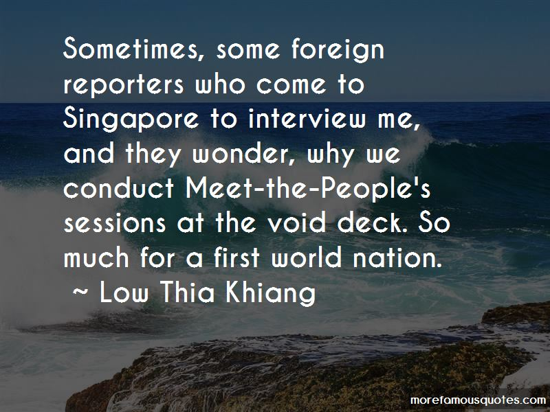 Low Thia Khiang Quotes Pictures 2