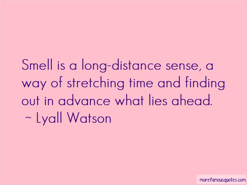 Lyall Watson Quotes