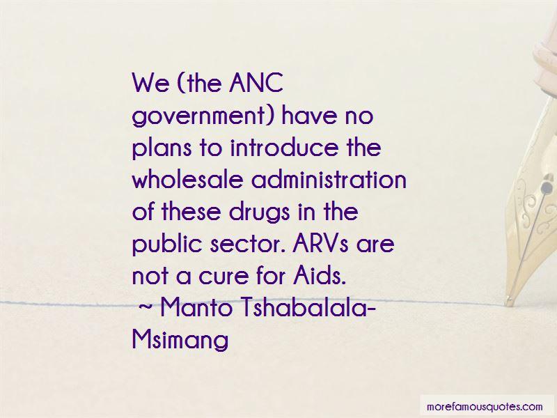 Manto Tshabalala-Msimang Quotes