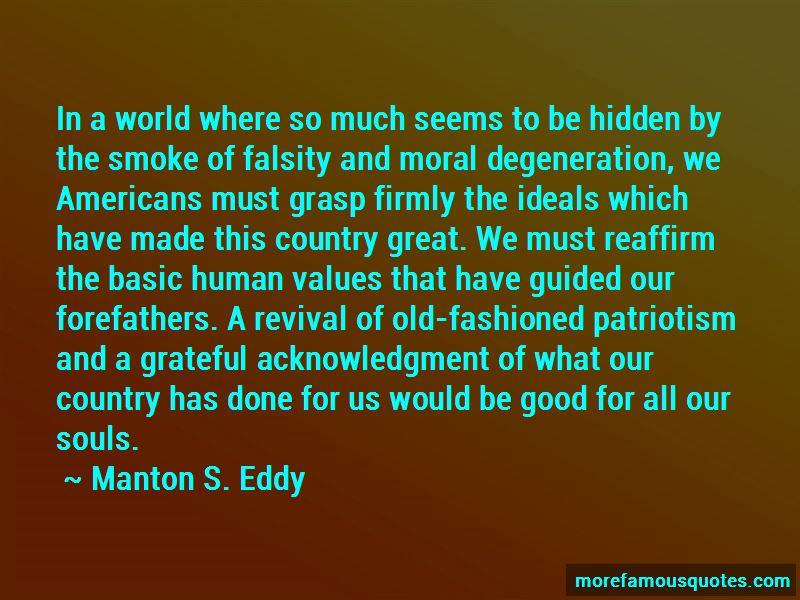 Manton S. Eddy Quotes