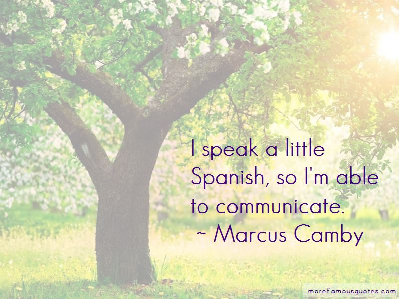 Marcus Camby Quotes Pictures 2