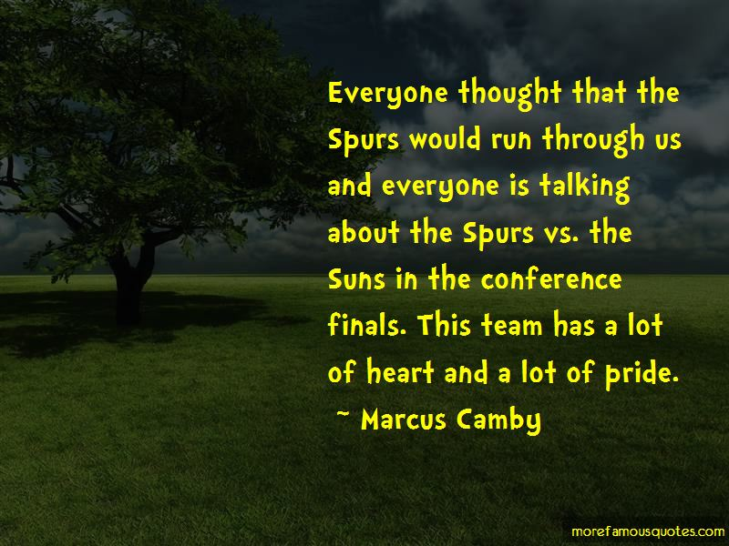 Marcus Camby Quotes