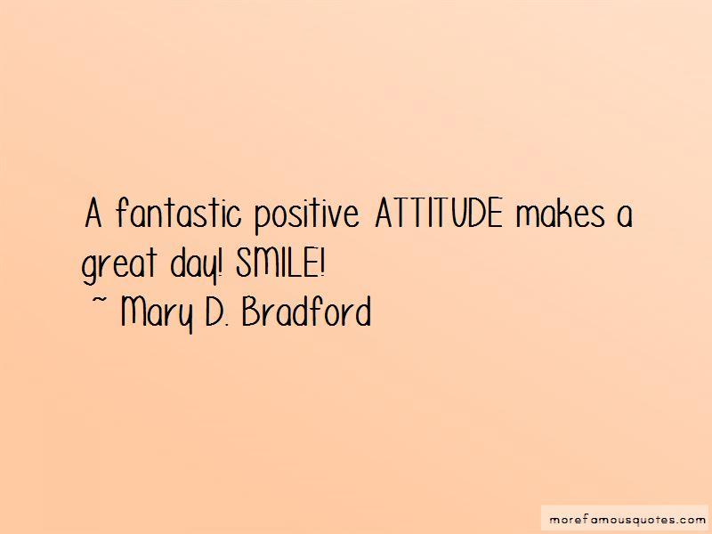 Mary D. Bradford Quotes