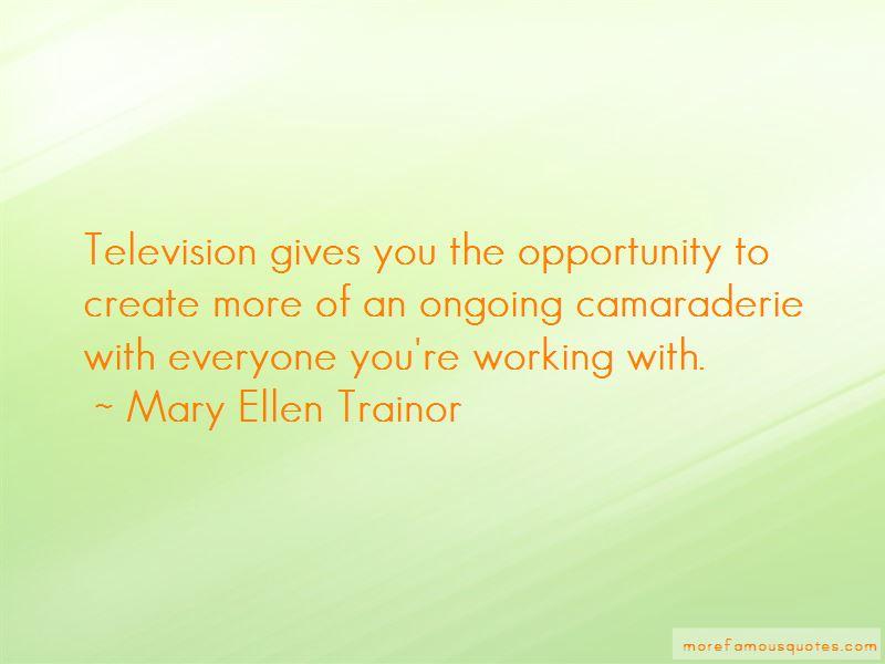 Mary Ellen Trainor Quotes Pictures 2