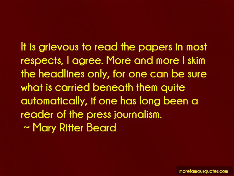 Mary Ritter Beard Quotes