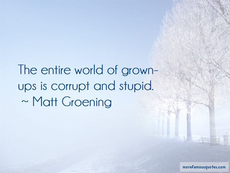 Matt Groening Quotes Pictures 3