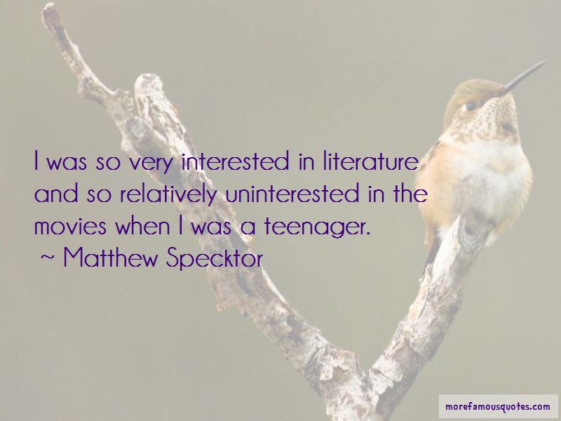 Matthew Specktor Quotes Pictures 2