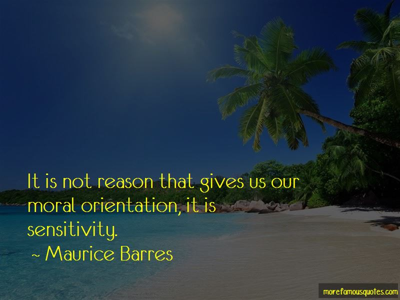 Maurice Barres Quotes