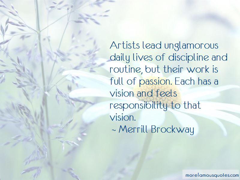 Merrill Brockway Quotes