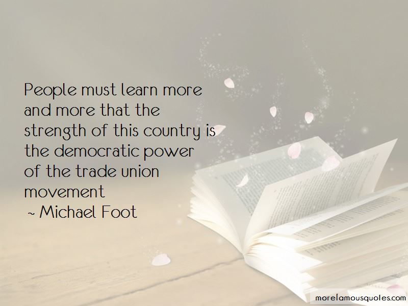 Michael Foot Quotes