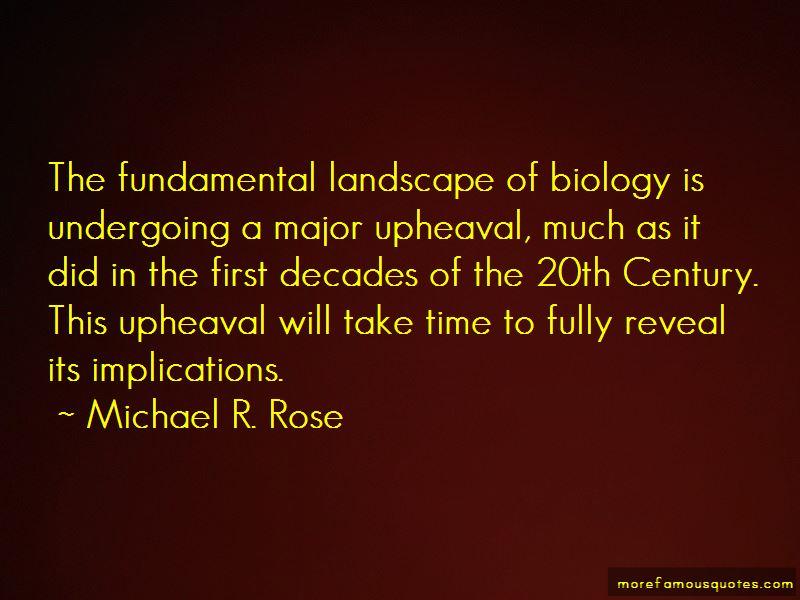 Michael R. Rose Quotes