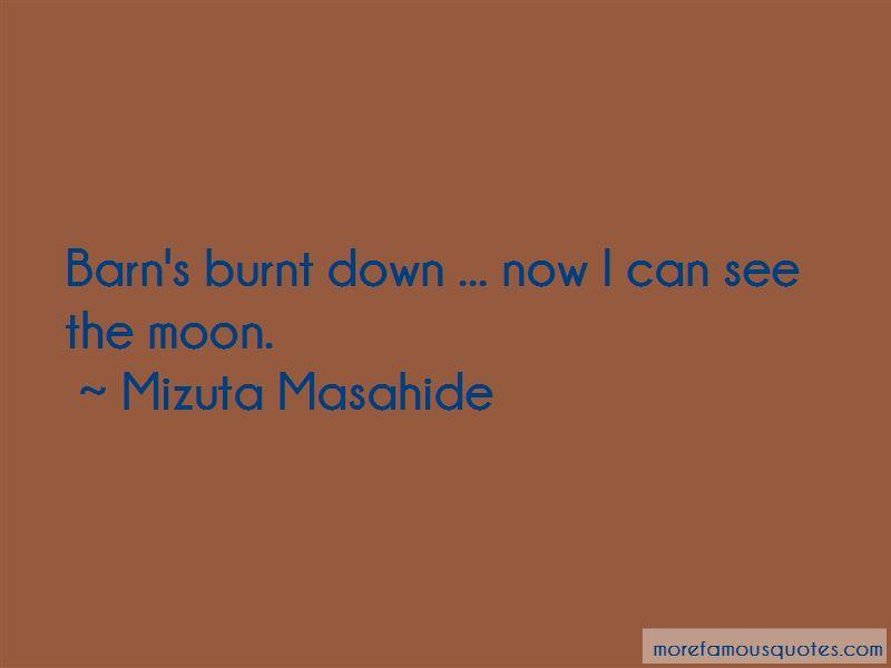 Mizuta Masahide Quotes