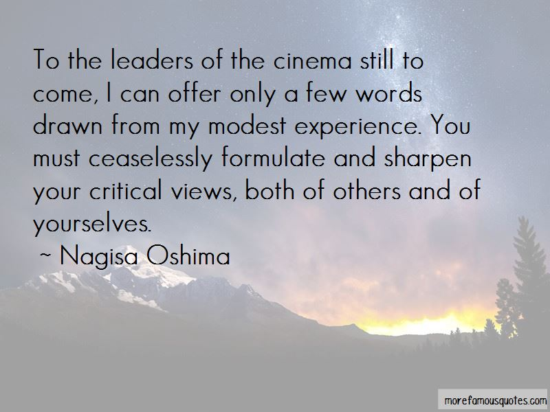 Nagisa Oshima Quotes Pictures 3