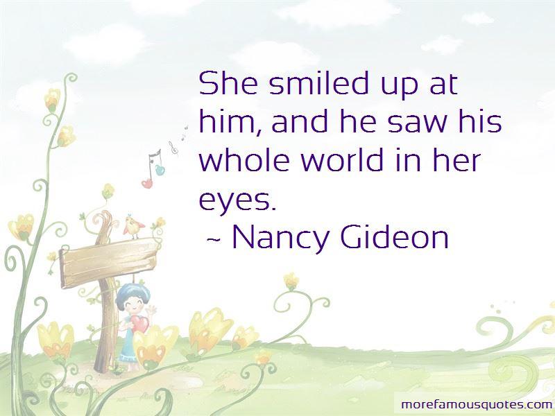 Nancy Gideon Quotes Pictures 3