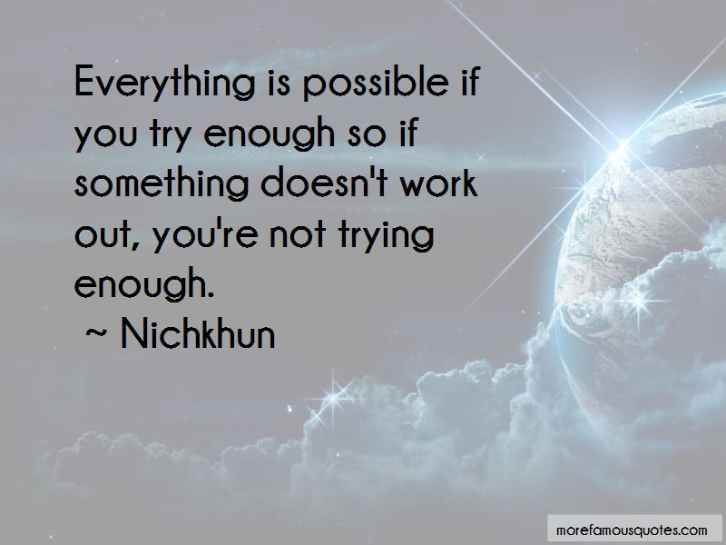 Nichkhun Quotes Pictures 3