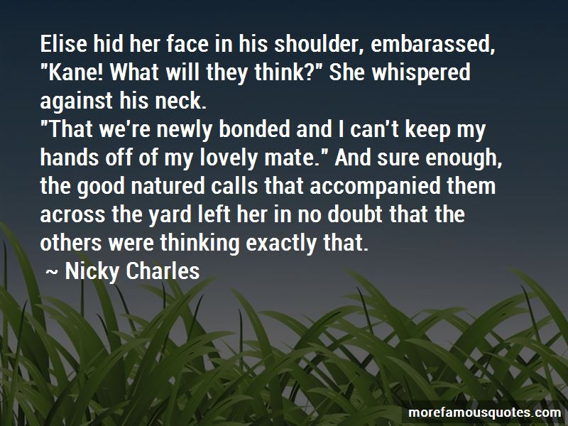 Nicky Charles Quotes Pictures 4