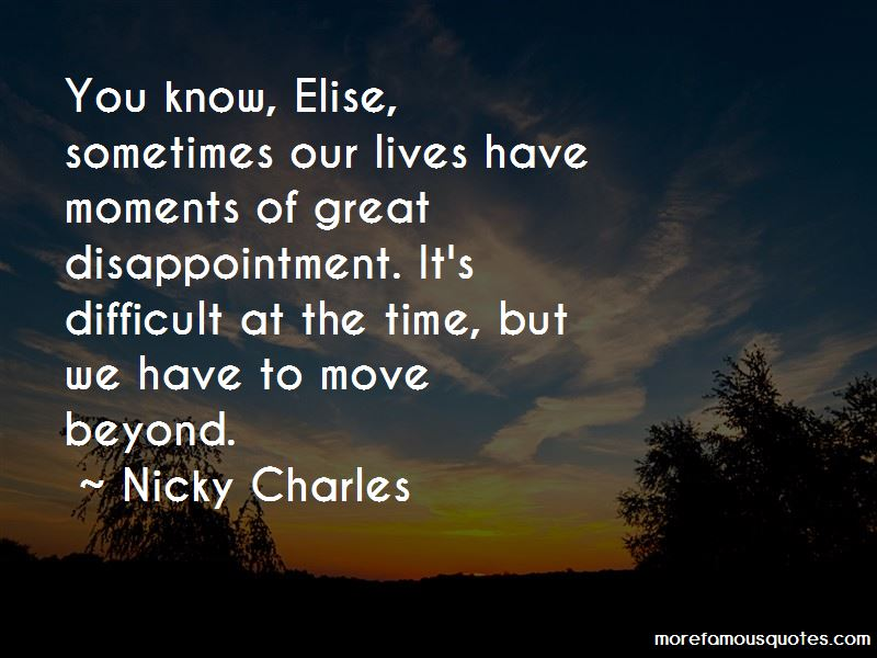 Nicky Charles Quotes