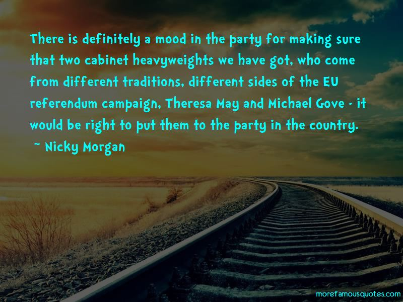 Nicky Morgan Quotes Pictures 2