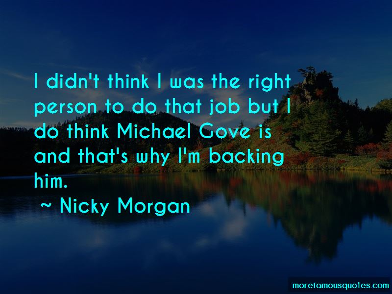 Nicky Morgan Quotes Pictures 3