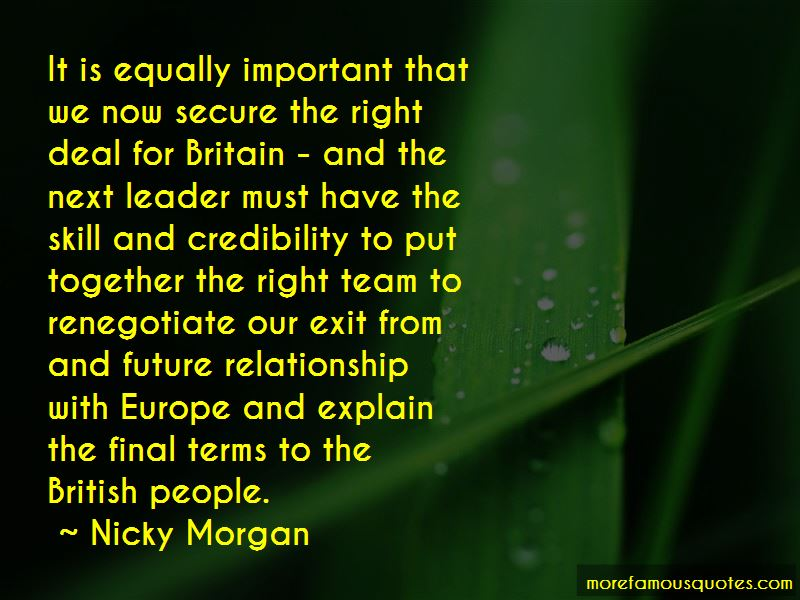 Nicky Morgan Quotes Pictures 4