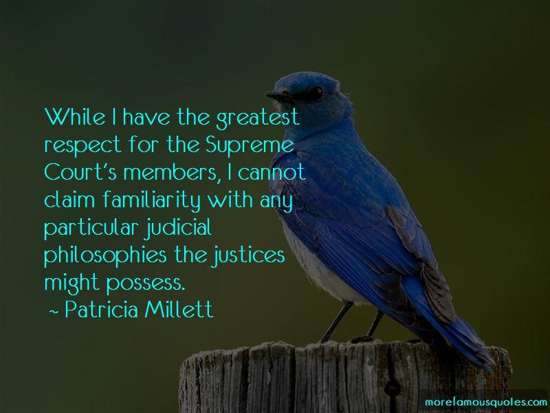 Patricia Millett Quotes Pictures 2