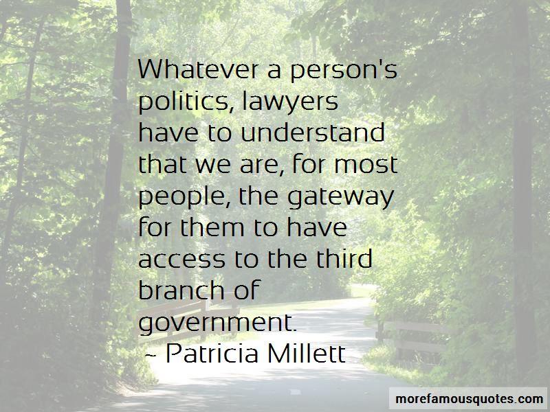 Patricia Millett Quotes Pictures 4