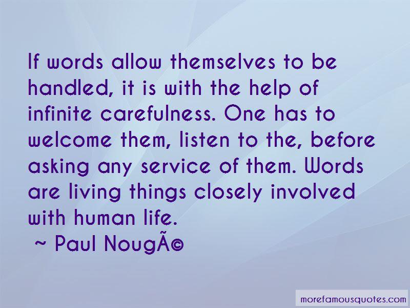Paul Nouge Quotes