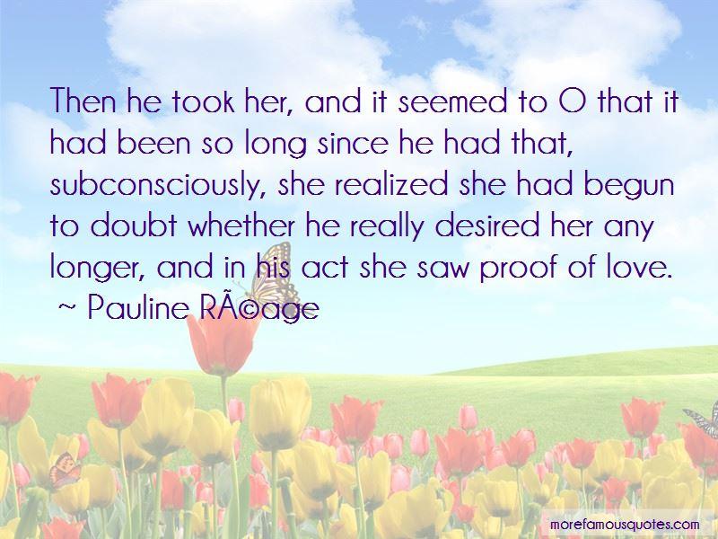 Pauline Reage Quotes Pictures 3