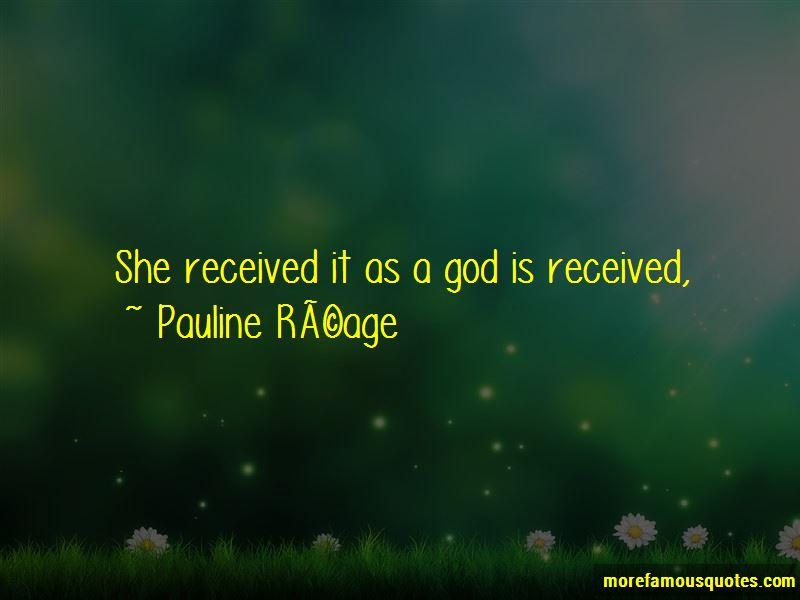 Pauline Reage Quotes