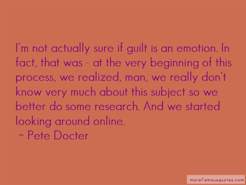 Pete Docter Quotes