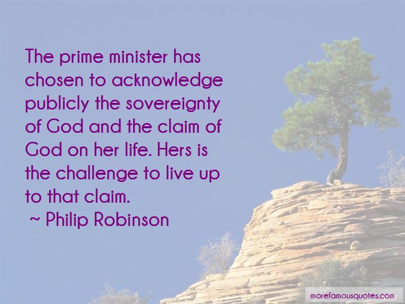 Philip Robinson Quotes