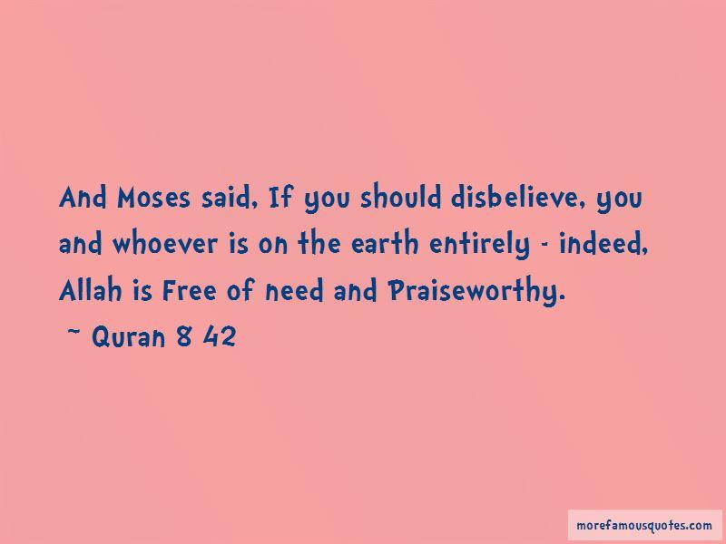 Quran 8 42 Quotes