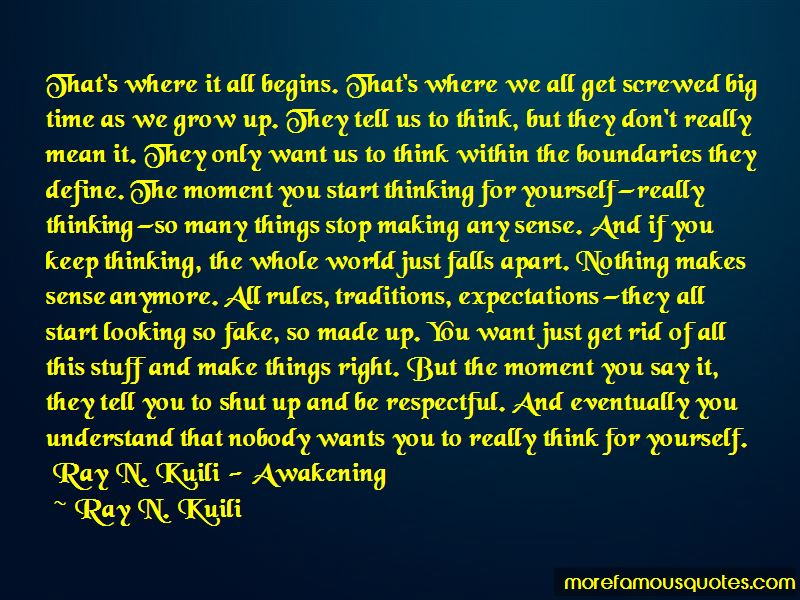 Ray N. Kuili Quotes Pictures 4