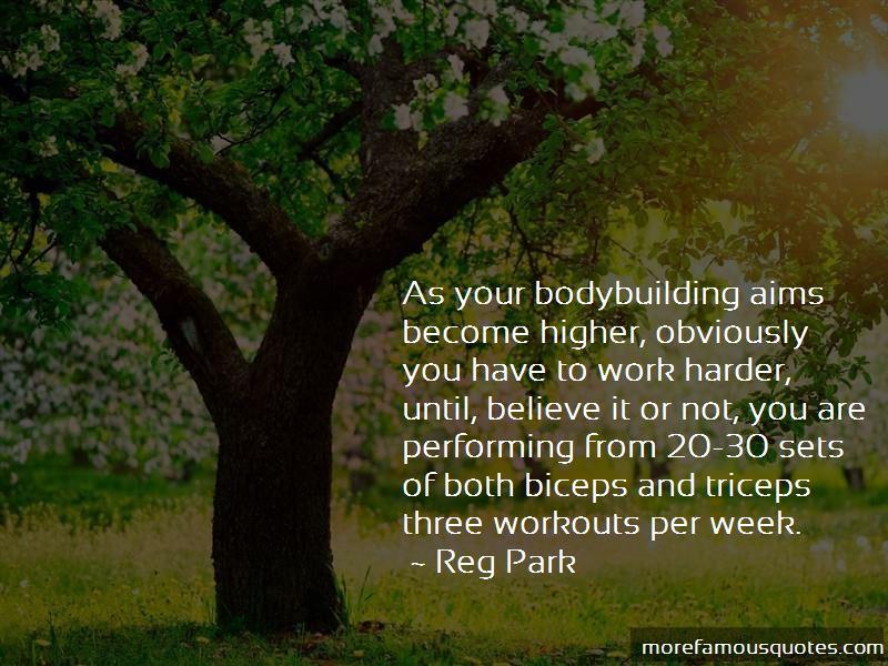 Reg Park Quotes