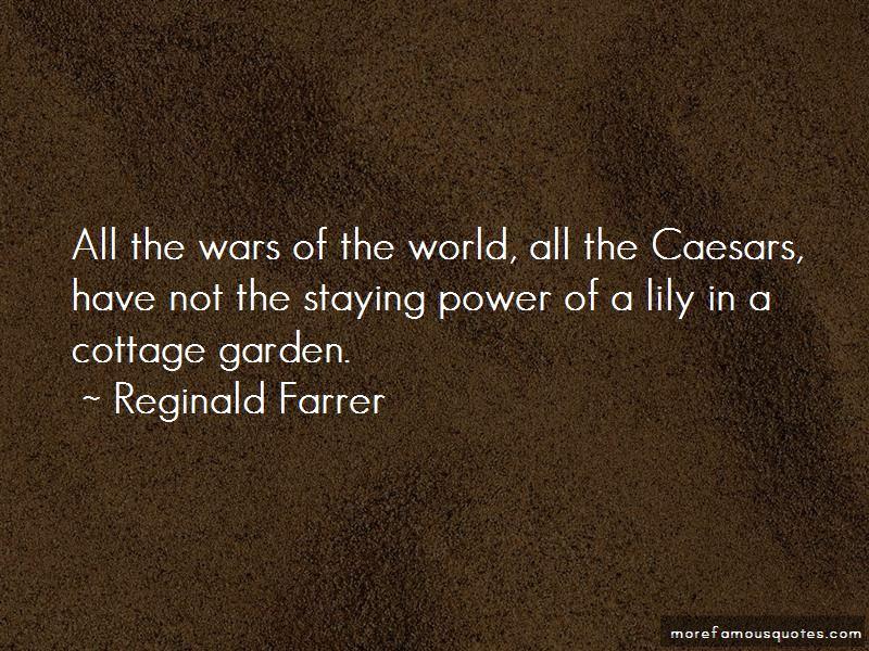 Reginald Farrer Quotes Pictures 3