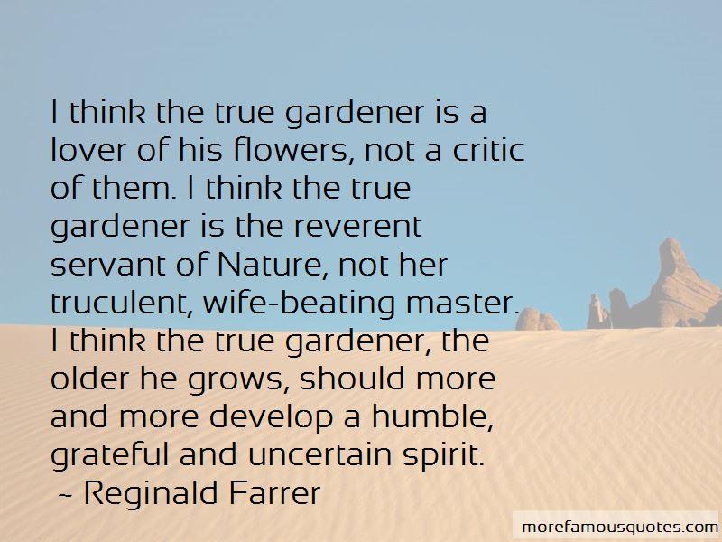 Reginald Farrer Quotes