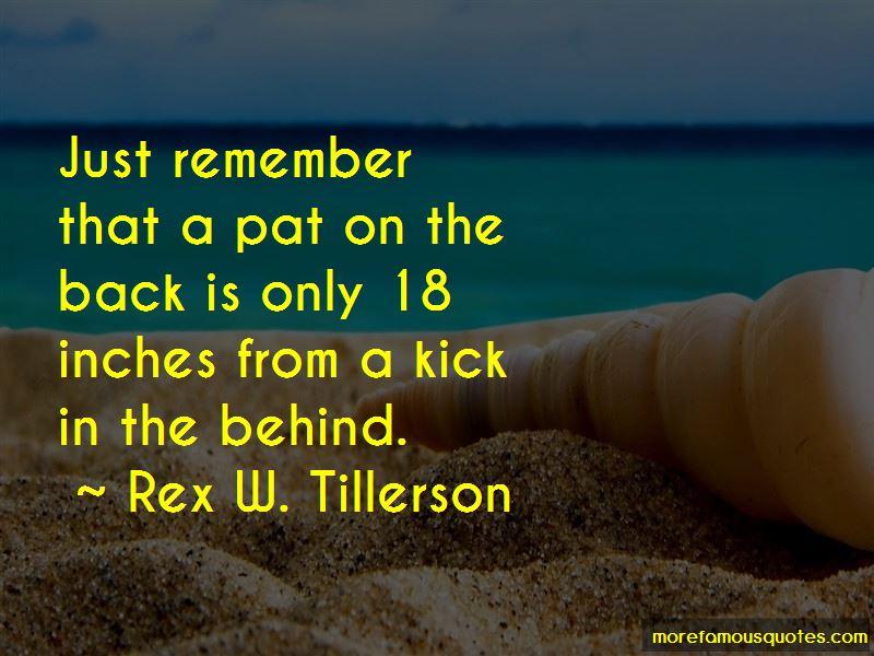 Rex W. Tillerson Quotes