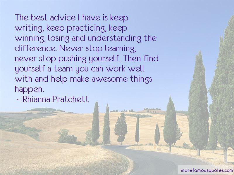 Rhianna Pratchett Quotes Pictures 2