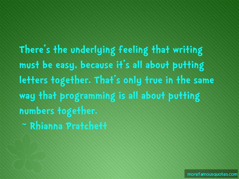 Rhianna Pratchett Quotes Pictures 4