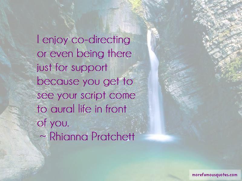 Rhianna Pratchett Quotes
