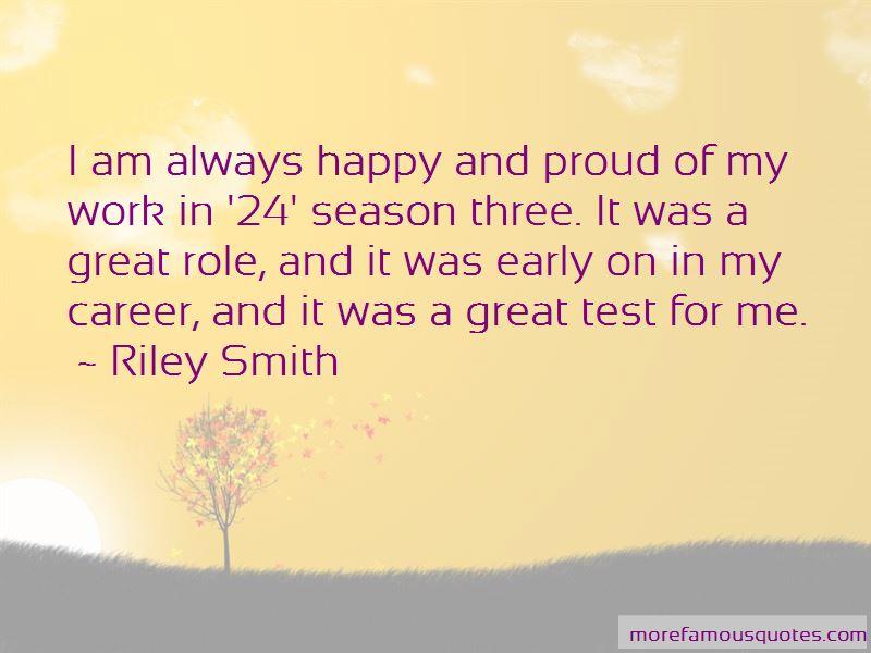 Riley Smith Quotes