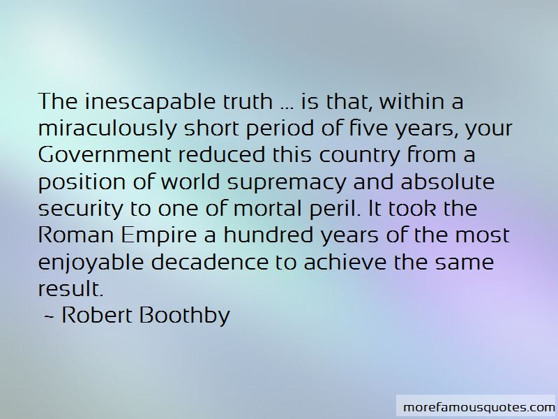 Robert Boothby Quotes