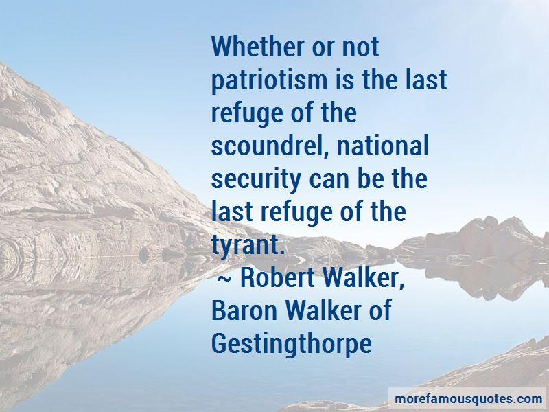 Robert Walker, Baron Walker Of Gestingthorpe Quotes