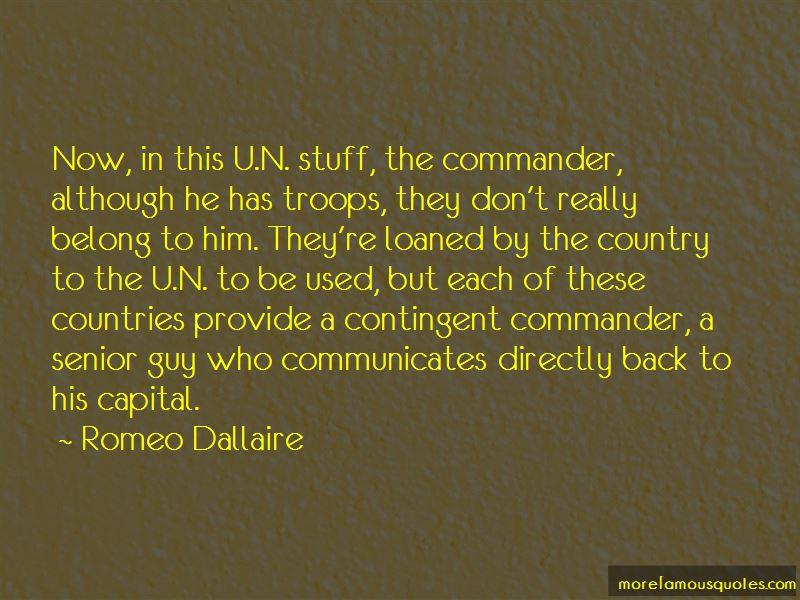 Romeo Dallaire Quotes Pictures 2